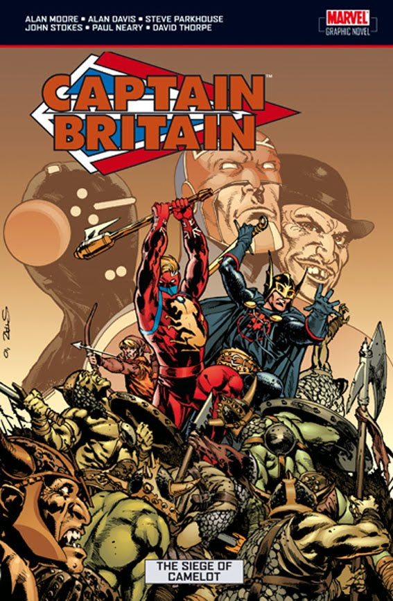 cover of Captain Britain and The Siege of Camelot