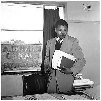 Nelson Mandela (1952)