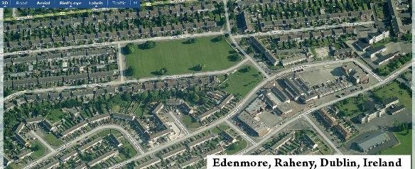 Edenmore in Virtual Earth