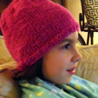 New Wool Free Hat Knitting Pattern