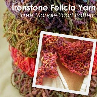 Free 1-Ball Felicia Scarf Pattern
