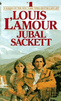 Jubal Sackett by Louis L'Amour, image courtesy of FantasticFiction