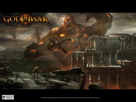 god of war 3 wallpaper. God of War 3 Wallpapers