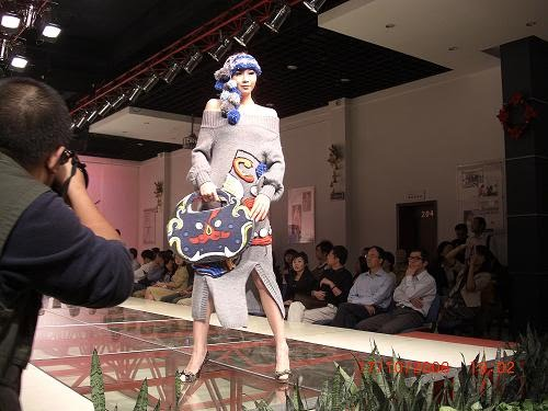 FASHION SHOW IN WUHAN, CHINA