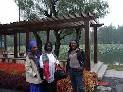 Joyce (Liberia), Ama & Rose (Ghana)
