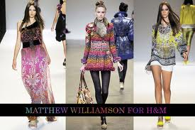 MATHEW WILLIAMSON FOR H&M SUMMER COLLECTION