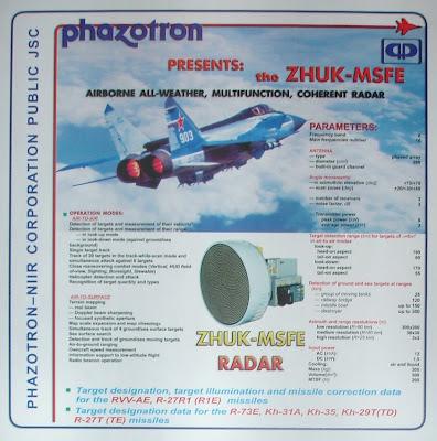 ميغ-35  Phazotron+JSC%27s+Radars-4