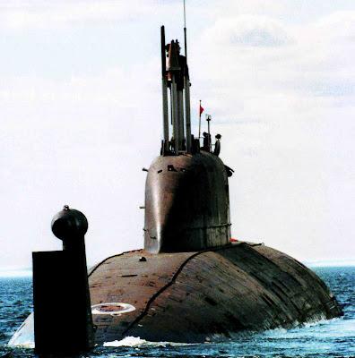 Submarino nuclear de ataque Nerpa Operacional