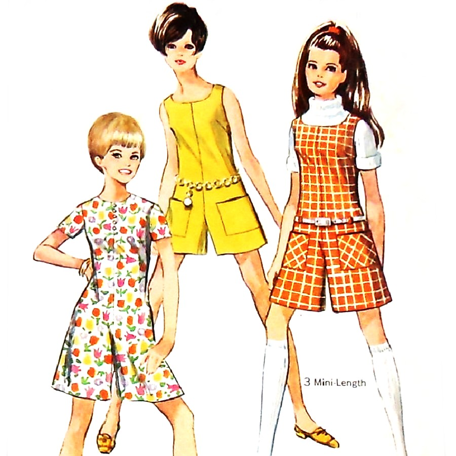 Fashion in the 1960s  Clothing Styles Trends Pictures