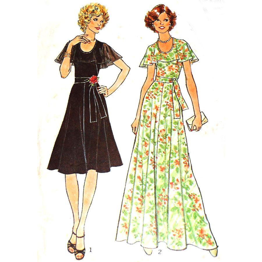 Miss 1960s Retro Dress Pattern 3833 SimplicityPatterns