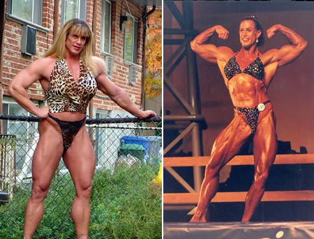 Biggest FBB in the World http://amazinglyfacts.blogspot.com/2010/03/worlds-most-extreme-female-bodybuilders.html