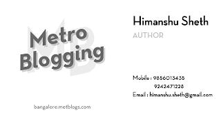My Metro Blogging identification