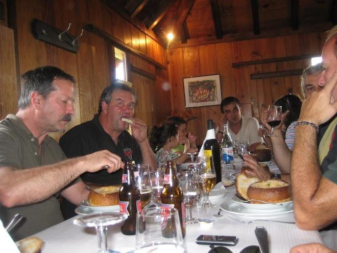 Squadra Alfa Romeo Madeira - 10 Maio 2009 - Almoço em São Jorge - Santana