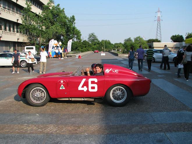 Marco Pestana da Squadra Alfa Romeo Madeira no Museu de Arese - 24 Jun 2010 -  100 anos Alfa  Romeo