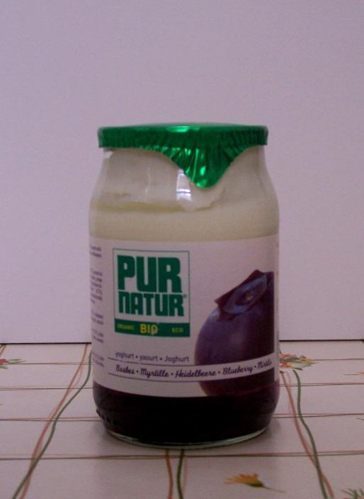 Pur Natur my gourmet guide pur natur bio blueberry yogurt