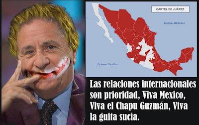 Duhalde, Palito Ortega y El Cartel de Juarez