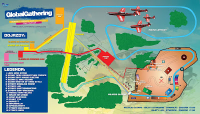map GlobalGathering 2008
