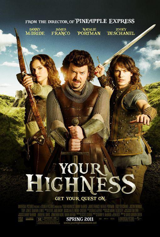 หนังฝรั่งYour Highness ศึกเทพนิยายเจ้าชายพันธุ์เพี้ยน(นาตาลี พอร์ตแมน)