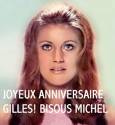 Passion Sheila Joyeux Anniversaire Gilles