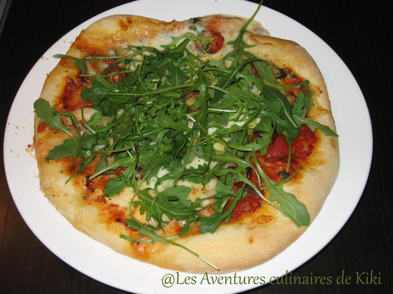 faits avec amour les aventures culinaires de pizza aux tomates 224 la mozzarella et 224 la
