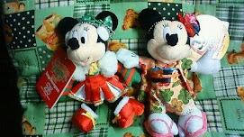 幸せ配達 mini mouse