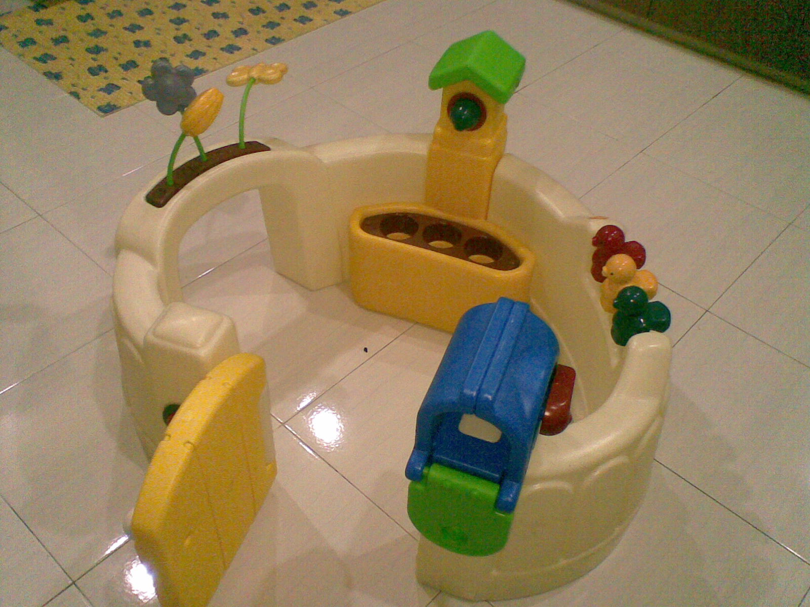 Awesome Little Tikes Activity Garden Baby Playset Gallery - Brown ...