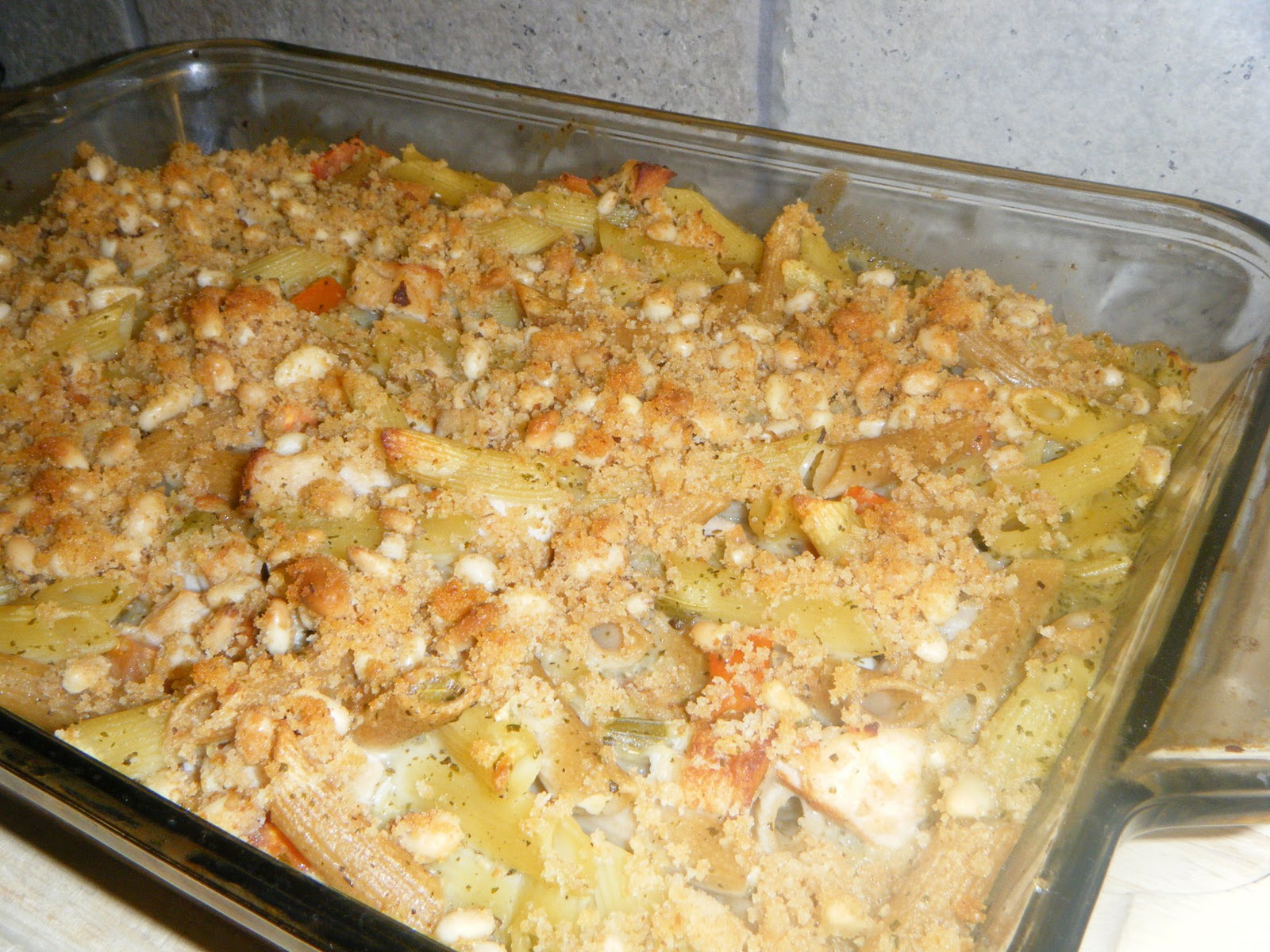 Creamy Pesto-Chicken Casserole Recipe — Dishmaps