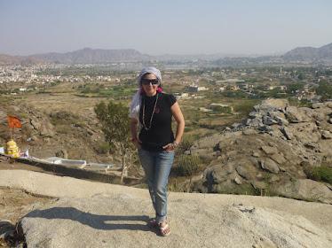Ajmer desde la montaña de la Serpiente.