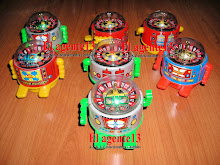 ROBOTITOS CON RULETA. MADE IN JAPAN