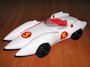 METEORO SPEED RACER MATCH 5 DE PLASTICO SOPLADO.