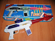 "TOMMY Z GUN JUGUETE ESPACIAL ""DAISHIN"" MADE IN JAPAN"