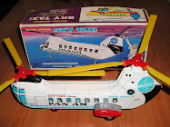 "SKY TAXI ""PAN AM"" MADE IN JAPAN."
