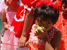 Carnaval de niños en Bolivia