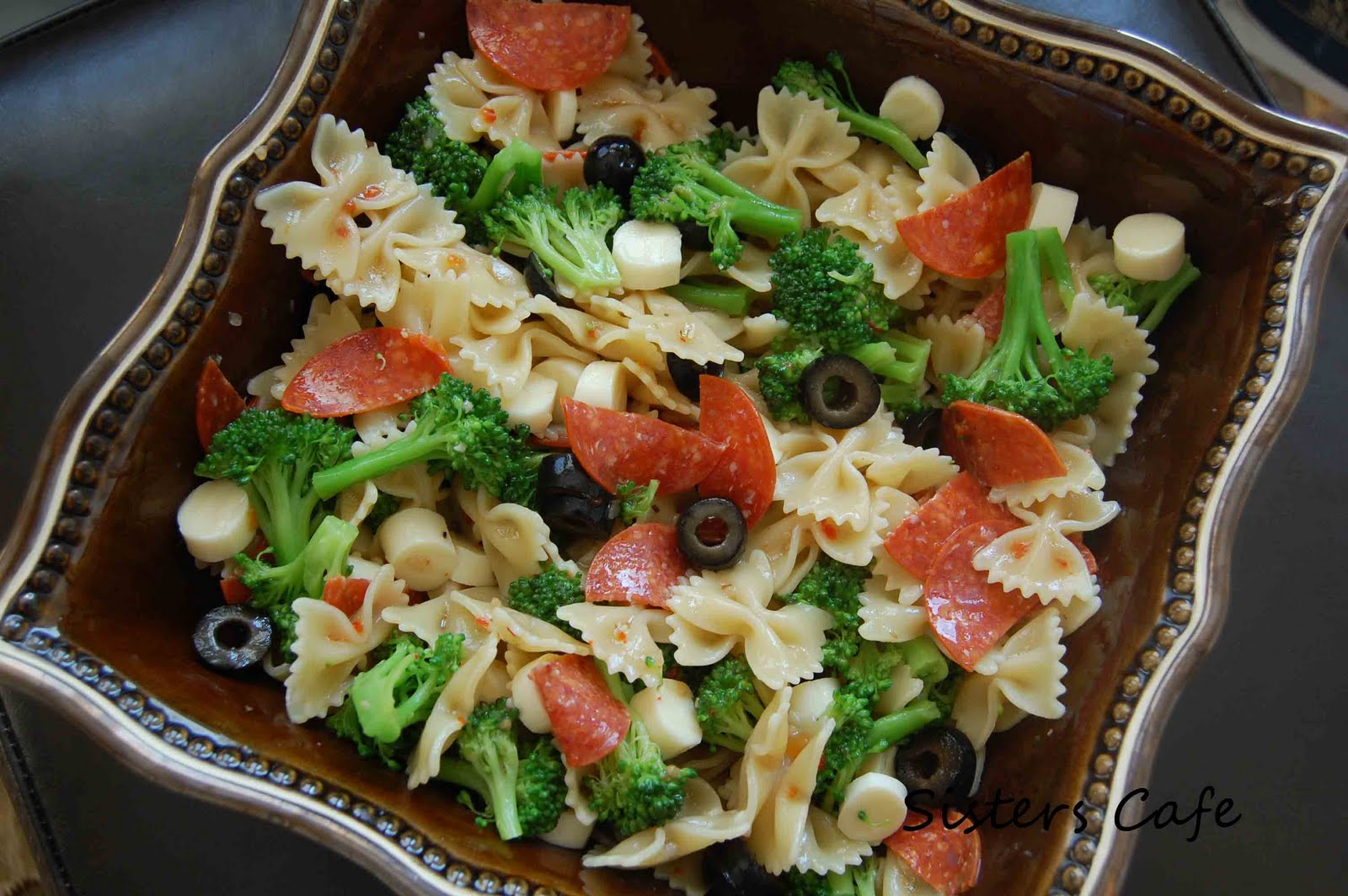 Italian Pasta Salad | The Sisters Cafe