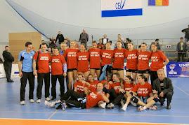 FOTO: Metal Galati, din nou campioana (12 mai 2008)