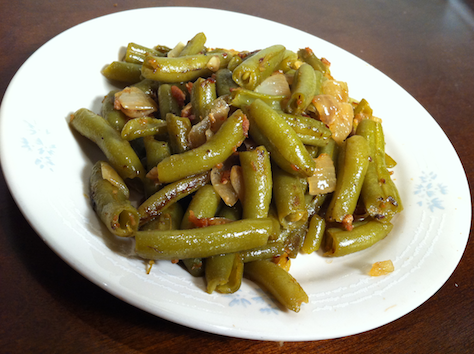 creandé: Pan-Fried Green Beans
