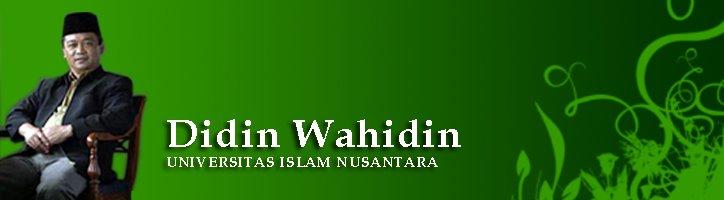 Dr.H. Didin Wahidin, MPd.