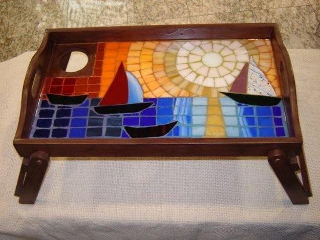 Todo en mosaicos - Cuadros de atardeceres ...