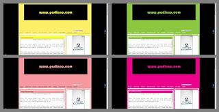 warna blog padinno