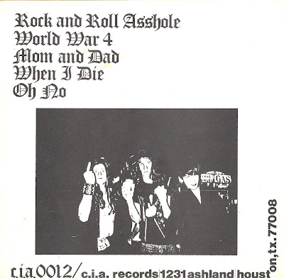 Cover Album of Marching Plague - Rock 'N' Roll Asshole E.P. - 1983