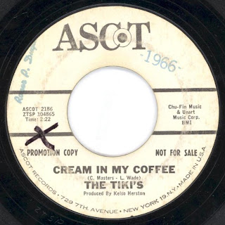 The Tiki's  - Stop - Look - Listen - Cream In My Coffee