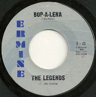 Cover Album of The Legends - Bop-A-Lena - I Wish I Knew