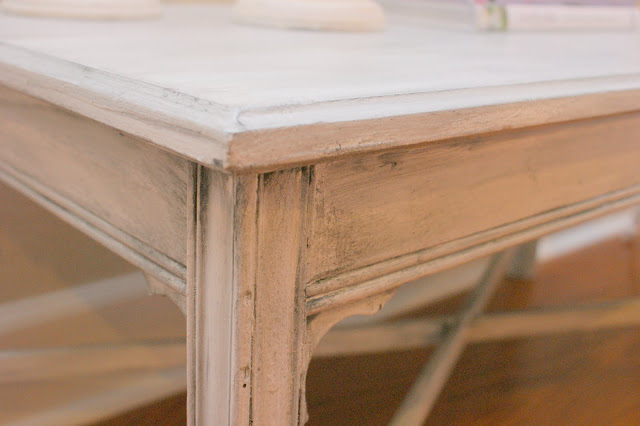 Aged antique grey coffee table perfectly imperfect blog for Coffee tables 16 inches high
