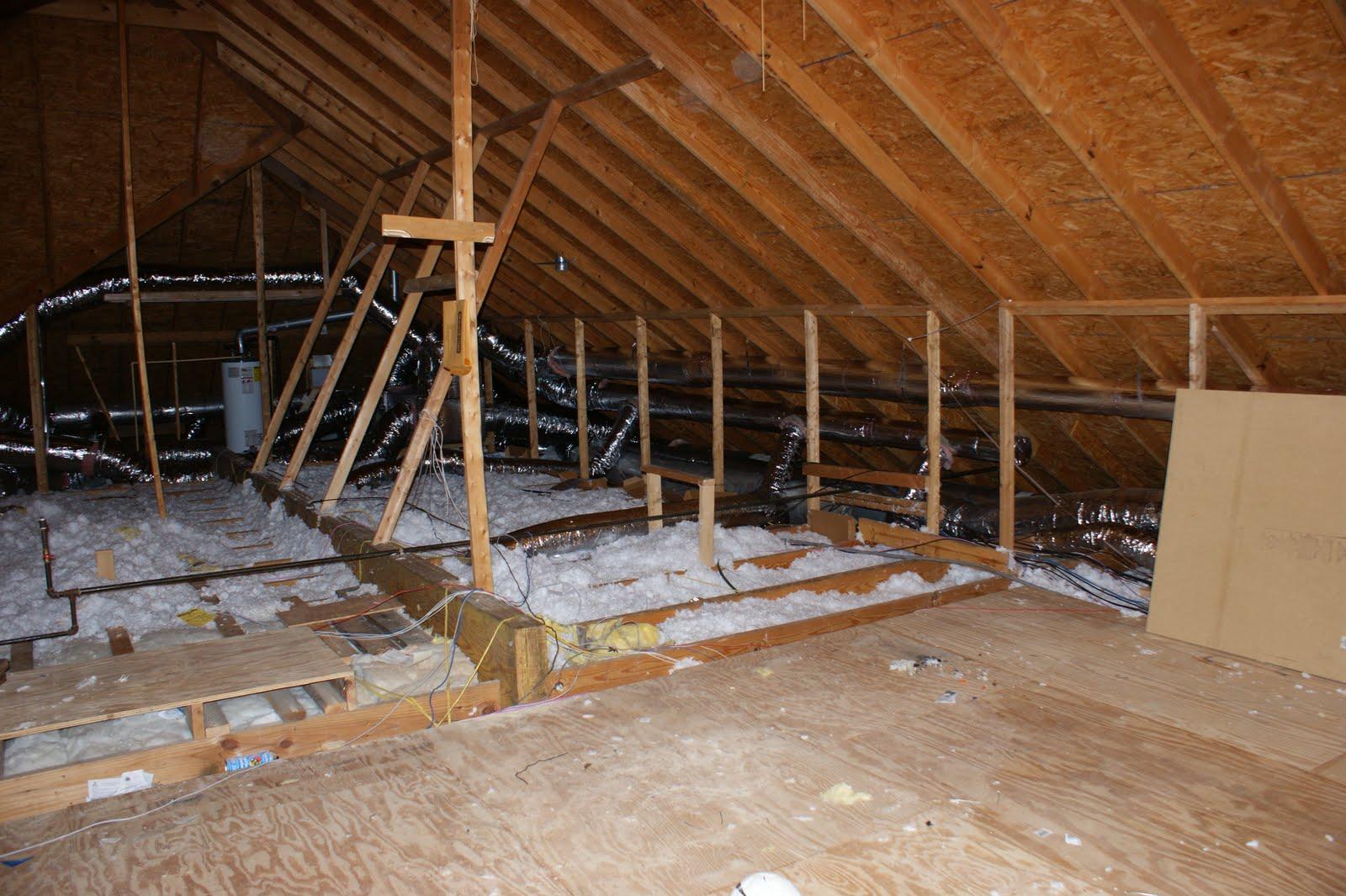 unfinished attic ideas - Remodelaholic