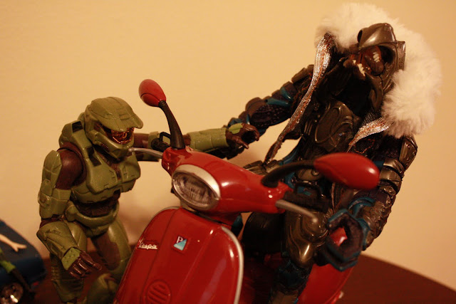 Master chief off duty, Arbiter's weekend
