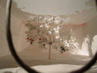 Beautiful Paper Tree art