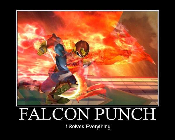 F-Zero - A série! Falcon_Punch_by_LoboStylez