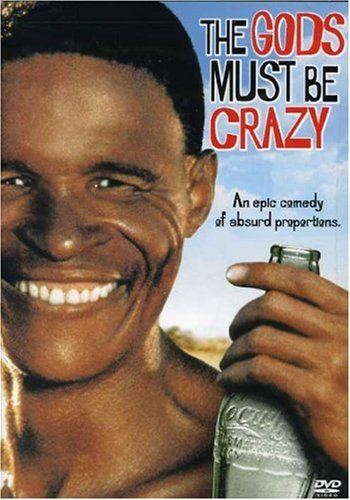 gods must be crazy Available in: dvd the gods must be crazy (1980) and the gods must be crazy 2 (1988) arrive on dvd for the first time in this double feature.