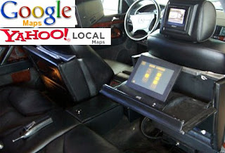 Google Maps in Mercedez