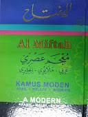 Produk 10 - Kamus Al-Miftah. Bahasa Arab, Melayu dan Inggeris.